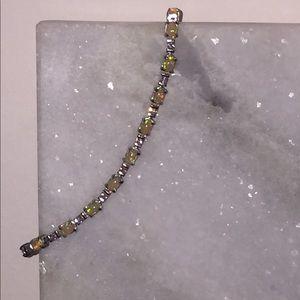 Jewelry - Silver Opal Bracelet